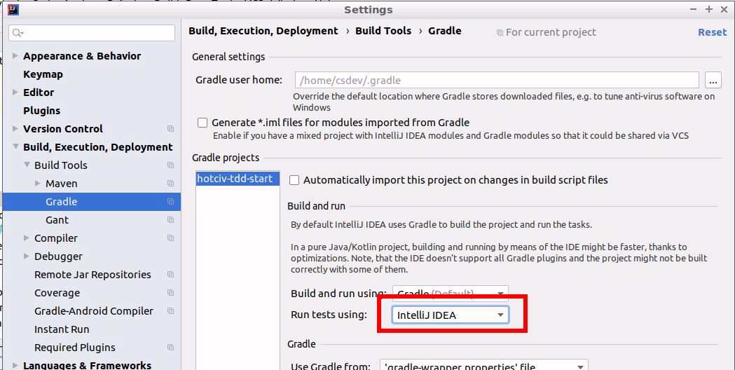 Import a Gradle project into IntelliJ